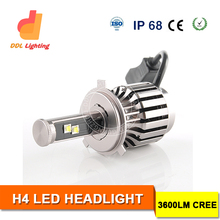 Hot selling in Amazon High Quality 3600Lumens Led Automotive Headlight Bulb For Car/Truck All in one Head Lamp
