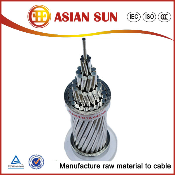 Overhead Line Conductor Service Drop Laurel All Aluminum AAC Conductor