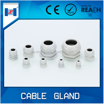 "Free sample wholesale G thread Nylon g1/2"" cable gland manufacturer"