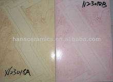 pink ceramic bathroom wall tile,ceramic wall tile 20x30,cheap ceramic tiles for bathroom