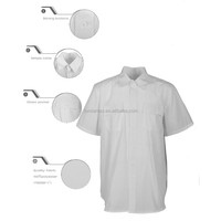 Widely Used Durable Cheap workwear-4025 White Shirt Uniform Work