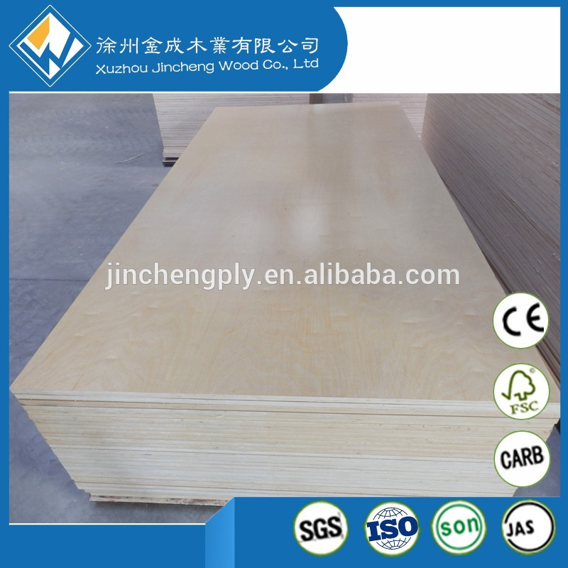 free shipping China furniture wood 18mm birch plywood