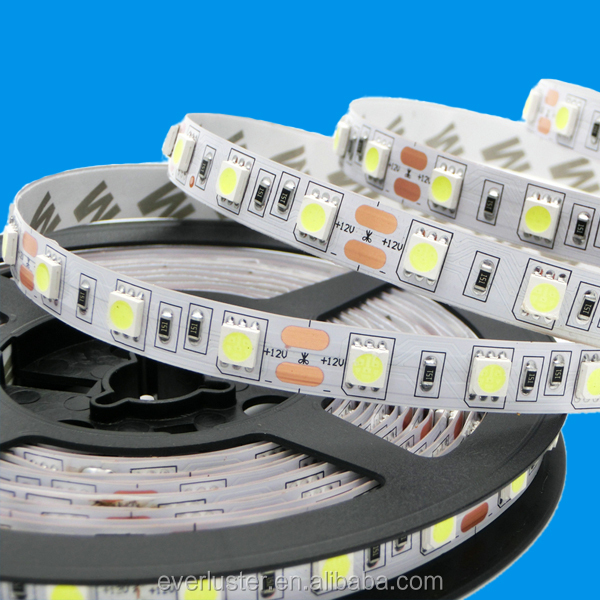 5050 5meter 16.4foot power bank led strip with 3M back adhesive