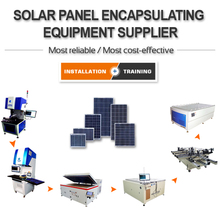 Affordable Home Solar Cell Panel Manufacturing Equipment