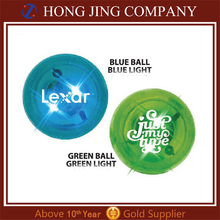 Certified Top Supplier led light up bouncing ball toy