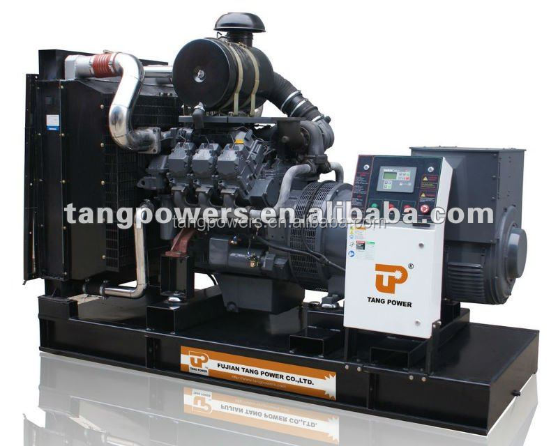 200kw open type Deutz engine power generator