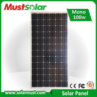 Competitive Price 100W Mono Solar Panel for Garden