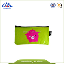 Eco Friendly Kustom Dicetak pp non woven Ritsleting Tas Pensil