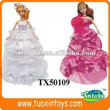 2 style dress up doll