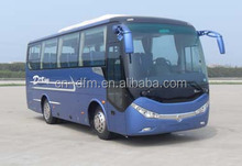 Hot selling 35 seats china new design Commercial Passenger Bus for sale