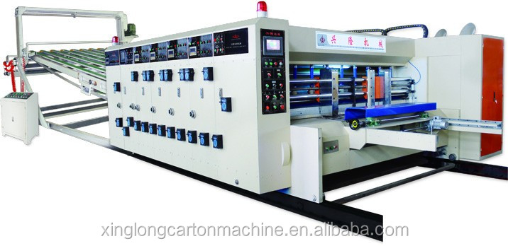 multicolor cartons printer slotter die cutter