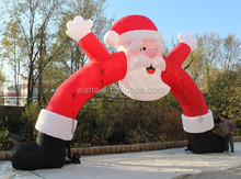 32ft custom christmas inflatable/arch/inflatable christmas customized/customized inflatable christmas W183