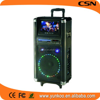 professional passive subwoofer loudspeaker,commercial audio,DJ portable speaker with rechargeable battery