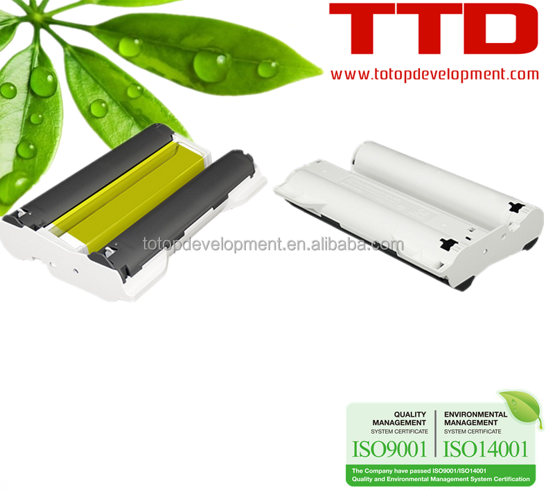 TTD Compatible Ink Cartridge KP108in RP-108 for Canon SELPHY CP910/900/810/800/760 (3 ink + 108Sheet Photo Paper)