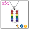Wholesale Enamel Classic Rainbow Dog Tag