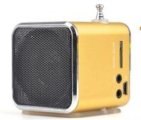 Best portable usb sd card mini speaker fm radio for kids
