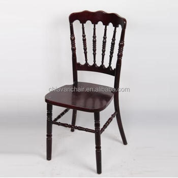 High Quality Mahogany Solid Wooden Napoleon Chairs