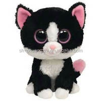 stuffed black cat toy cute black cat for girl