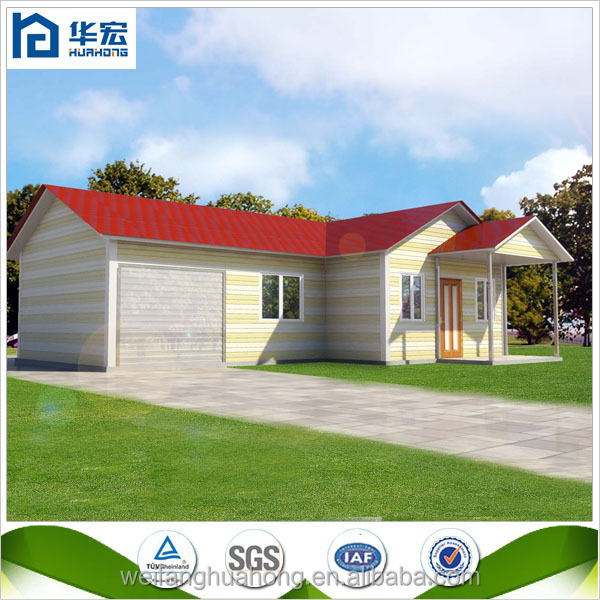 Prefabricated garden house, hut house modern prefab villa