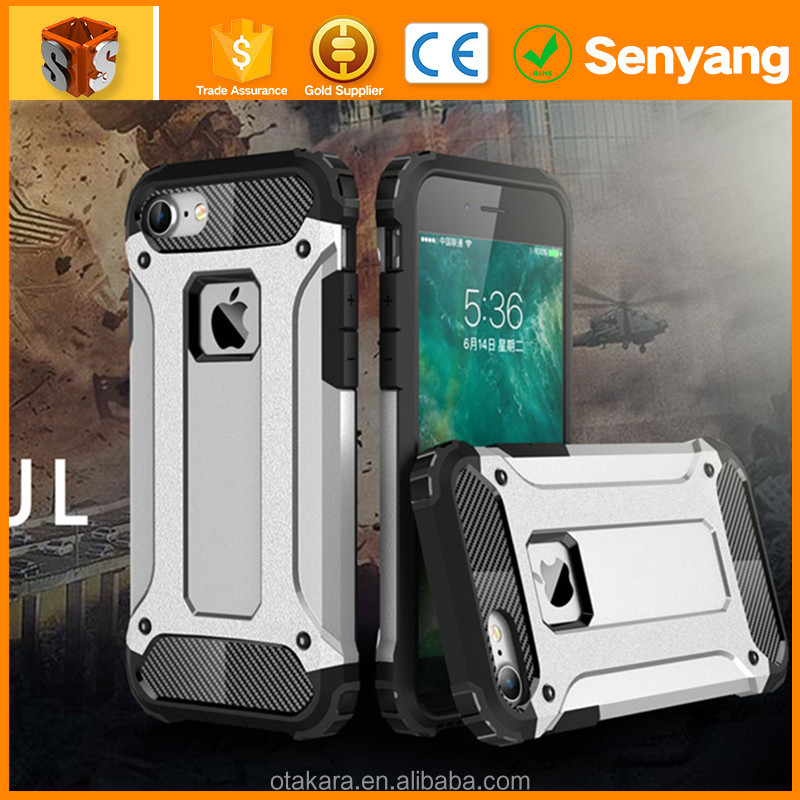 2017 Hot New Products Hybrid Rugged Combo Armor Hard Case For Iphone 7 Case