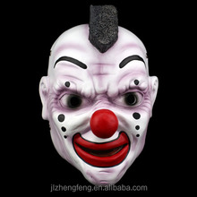 Halloween resin European horror character mask
