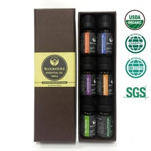 Aromatherapy Top 6 100% Pure Therapeutic Grade Basic Sampler Essential Oil gift Basic sampler essential oil gift set 6/10-826065