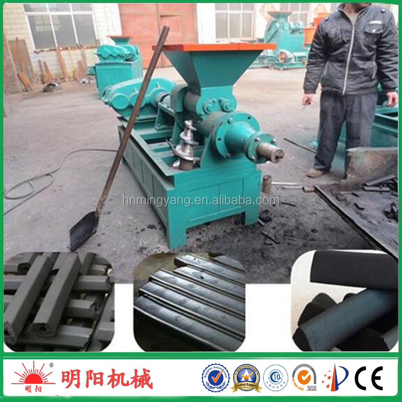 Mingyang brand sawdust charcoal briquette machinery maker 008615039052281