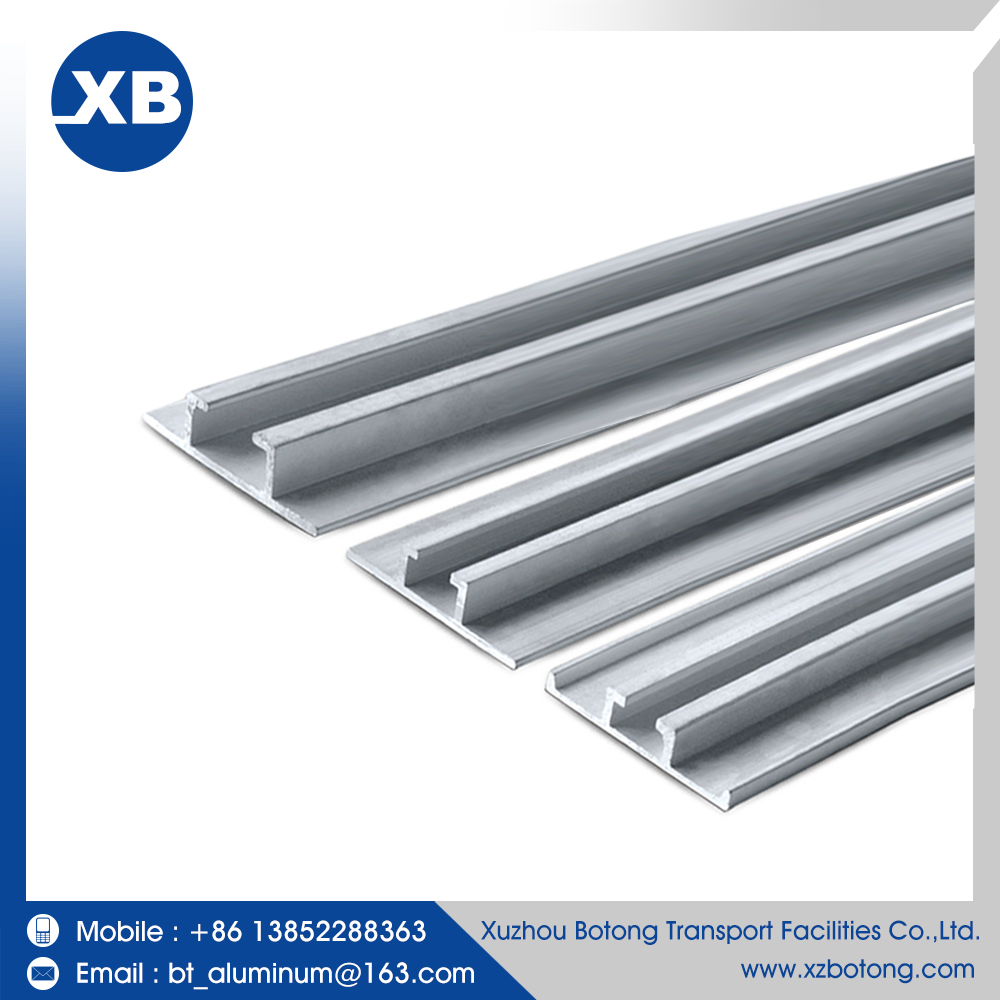 China high quality low price curtain profile aluminum rail aluminum channel price