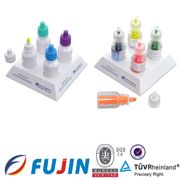 colorful glass markers set pharmaceutical promotion gift