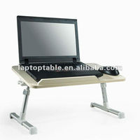 mdf lap cooling desk for laptop with fan