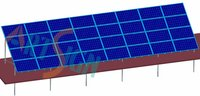 Solar Module Ground Mounting Brackets-Plant