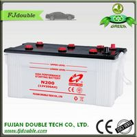 N200 12V200AH Lead Acid Dry Charged Battery