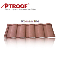 Best price stone coated steel /terracotta metal roofing tiles for Kerala