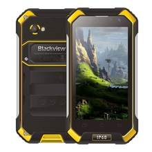 Factory price free gift Blackview BV6000 cellphone ram3GB rom32GB Waterproof Dustproof Shockproof Double Colored 4500mAh phone