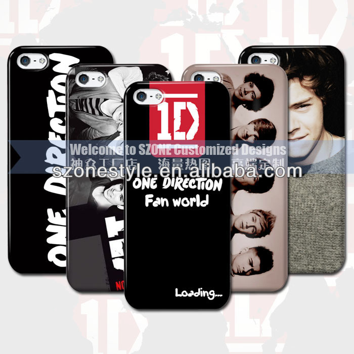 cell phone case cover whoelsale one direction rock case for iphone 5