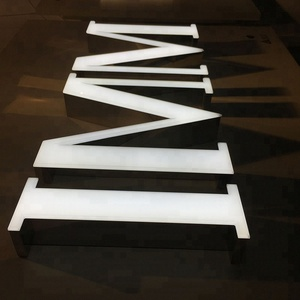 High competitive Mini LED Channel Letter Acrylic Lighting Letters