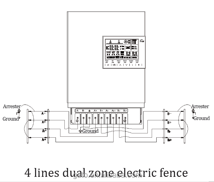 Electric Fence Circuit Diagram Pdf SmartDraw Diagrams – Electric Fence Wiring Diagram