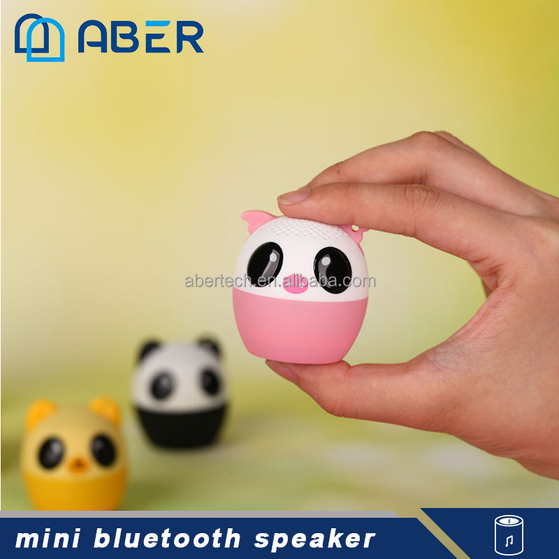 Portable Outdoor Pet Mini Bluetooth Animal Wireless Speaker for iPhone/iPad/iPod/Samsung