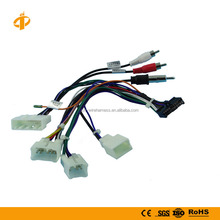 Custom automotive 28 pin Toyota audio wire harness manufacturer for car GPS