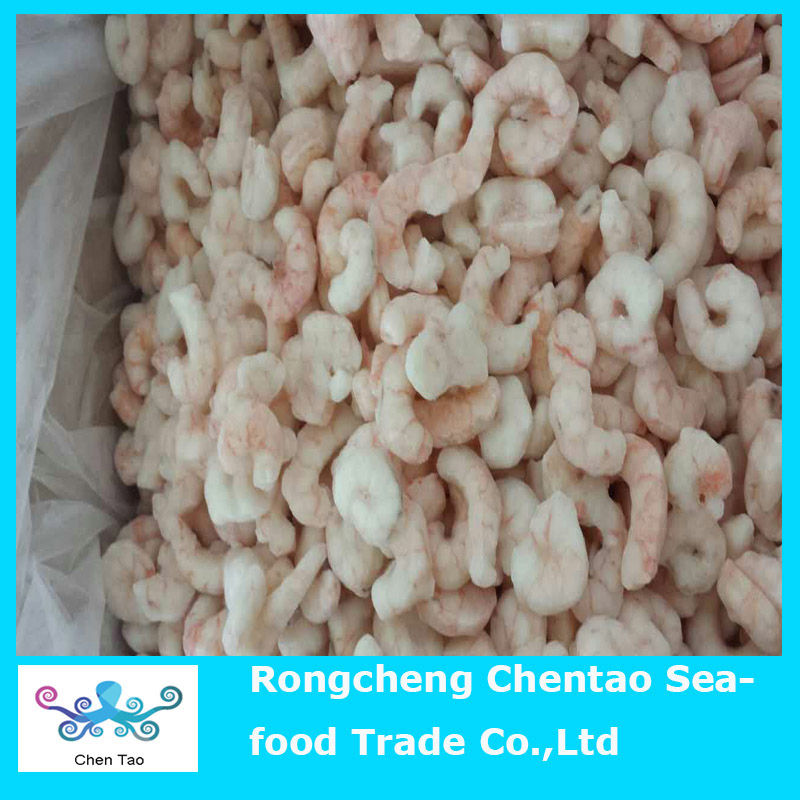 Frozen red shrimp meat