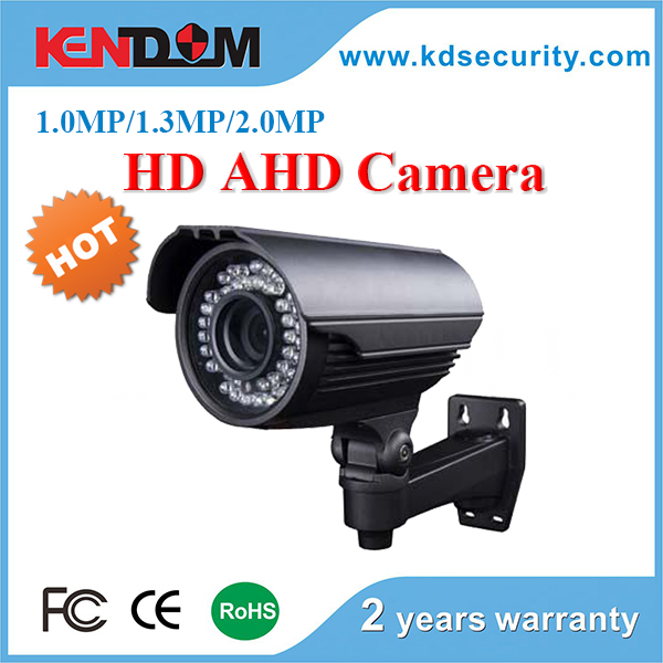 2.0MP HD Manual Zoom Lens AHD Bullet Privacy mask, 2D/3D NR, 16 languages Security Camera System AHD DVR Kits Optional