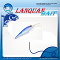 LANQUAN new wholesale high quality 'MINNOW-9' hard plastic fishing lure accept paypal