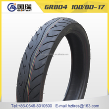 hot sale high quality motorcycle tyre casing 100/80-17