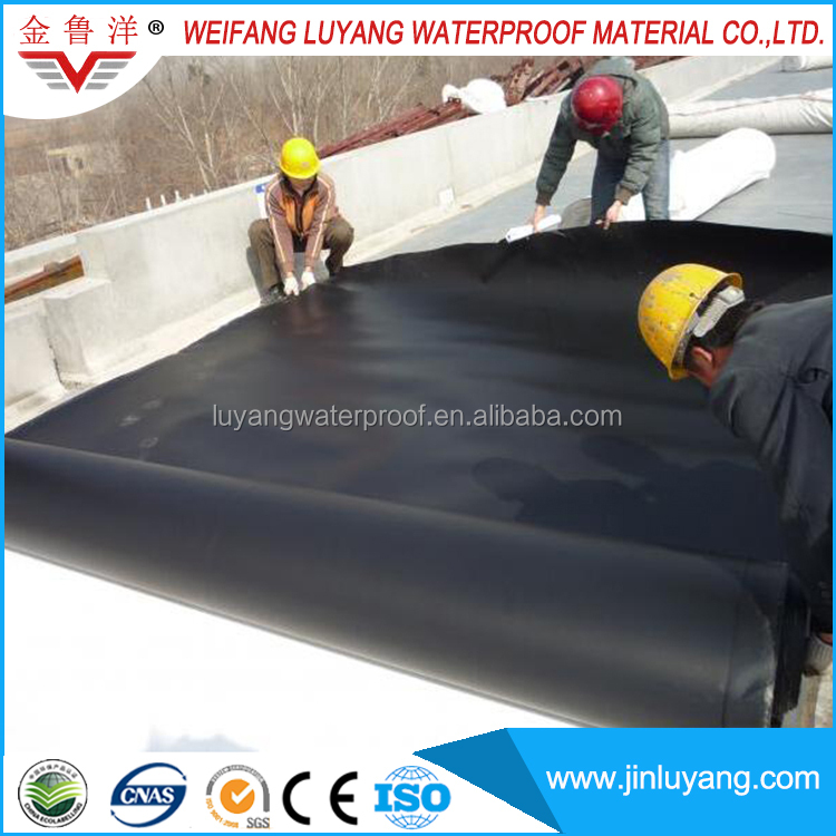 top quality EPDM rubber roof membrane for flat roof