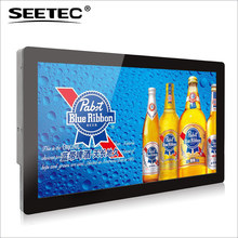 Full metal construction rugged industry design 21.5 inch Full HD capacitive touch karaoke kiosk