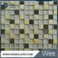 Item:SFER232301/02/03 Glass Mosaic,Mosaic Floor Tile, Mosaic Border
