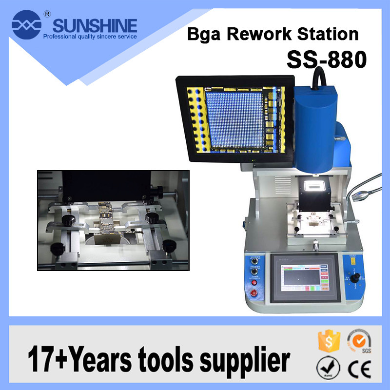 High Accurate 110v 220v Optical Alignment Repair Bga Rework Station For IC Repair