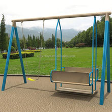 children playground 3 seats swing, outdoor swing sets