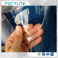 super clear soft PVC film bags packaging materials