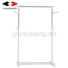 hot selling single pole adjustable hanging clothes drying rack